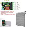 gate alarm garage door radio frequency remote controller