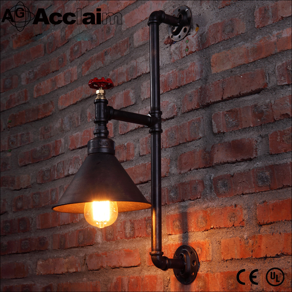 industrial restaurant use iron wall lamp for wholesale