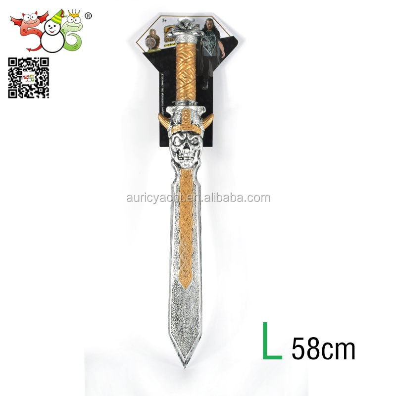 Cheap cool kids classic toy pirate plastic sword