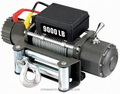 New Electric Winch 9000lb 12V/24V OFF-ROAD RECOVERY STRONG TRUCK WINCH
