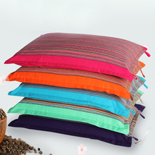SZPLH Customized Print 100% Cotton Rectangle Pillow With Buckwheat Shell Filling