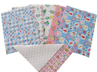 PVC/PE baby changing mat, waterproof & easy care & wipe clean & any sizes