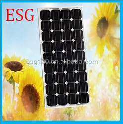 high quality 250W Mono crystalline solar panel for Toys and consumer electronics