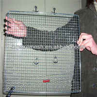 ggod quality barbecue grill/korean bbq wire mesh/baking wire mesh