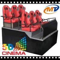 The most attractive theme park black chairs truck mobile 9d cinema and scc 2 program for 5d cinema