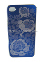 Blossom Rose Flower Aluminum bumper Case Design Protector for Apple IPhone 5 5G 5s