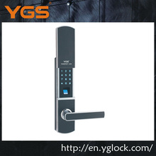 Security Office mechnical key,password high quality diy fingerprint door lock
