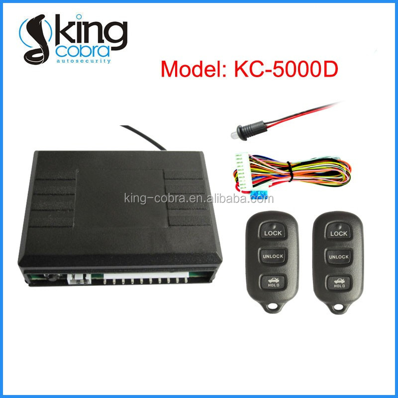 Universal Learning Code Remote Control Keyless Entry System