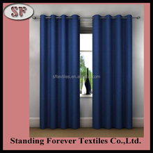 High quality 3 pass coated blackout curtain hotel restaurant living room window curtains for sale