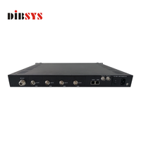 DVB-S/S2 modulator High performance and cost effective video wireless transmission solution digital tv broadcasting equipment