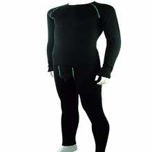 Men's merino wool heated thermal underwear sets long sleeve long Johns sportswear