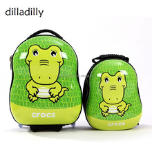 China Supplier Kids Trolley School PC ABS Bags set