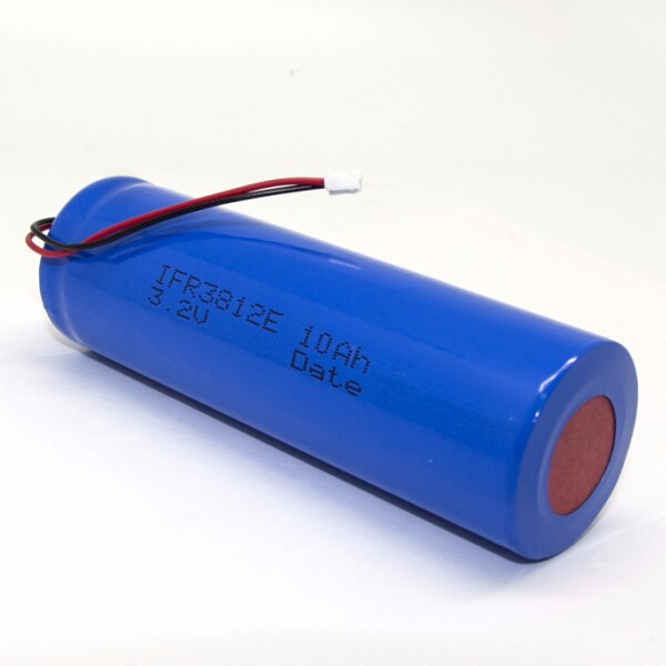China Supplier 3.2V 10Ah High Energy Capacity cylindrical 38120 LiFePO4 Battery for sports device