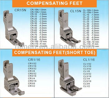 INDUSTRY SEWING PRESSER FOOT CL&CR