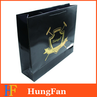 Luxury Paper shopping Bag with brand logo