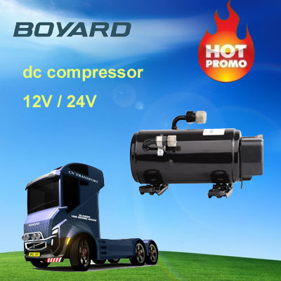 <strong>r134a</strong> boyard 12 / 24 volt dc motor compressor HB075Z12 for car air conditioner <strong>12v</strong>