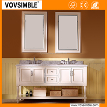 New design kashmir white granite bathroom vanity tops With Good Quality