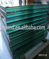 Soundproof High Safety Clear Laminated Glass 6.38mm