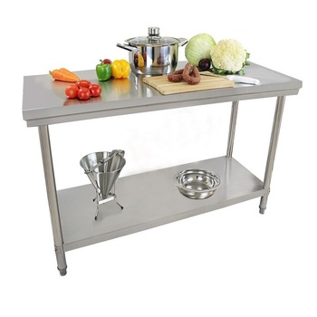 Kitchen stainless steel work table With low price