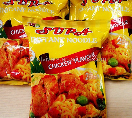 customer buying instant noodle