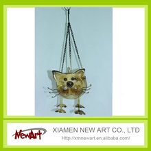 Metal hanging cat home decor products