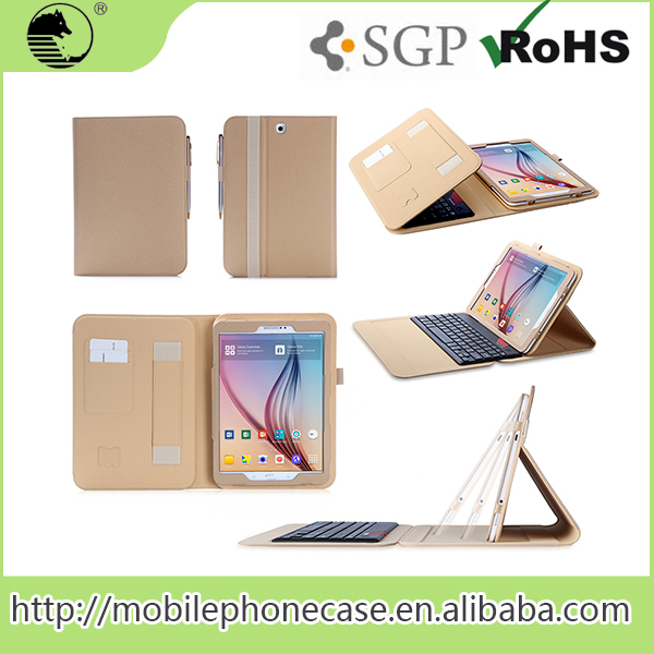 For Samsung Tab S2 Pu Leather Case China Oem Manufacturer Leather Case With Keyboard For 9.7 Inch Tablet Pc