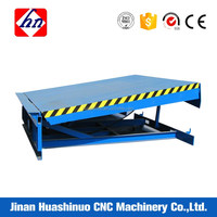 Dock Leveler Loading Warehouse Goods