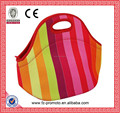promotional goods neoprene lightweight women lunch bags