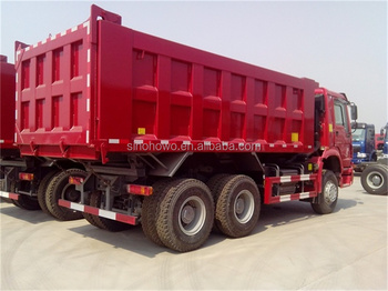 howo hyva cylinder 25ton sand transporting tipper truck