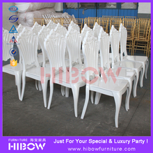 event rental stacking wedding chairs for bride and groom
