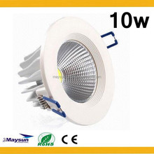 factory Wholesale 3 years warranty cob led downlight High Power 7W/ 9W/11W/15W/18W/ Dimmable led downlight