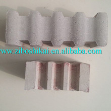 High strength Anti-stripping Abrasion resistant Al2O3 85% high alumina phosphatic refractory anchor brick for cement kiln