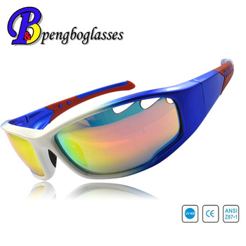 New design biker sports sunglasses with UV400 protection