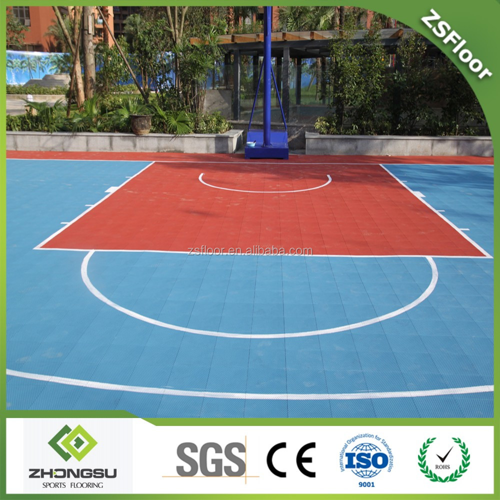 Cheap price portable used basketball flooring paint for Cheap floor covering solutions