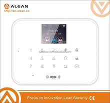E5 Newest!Touch Keypad & Andriod/IOS App Smart RFID/GSM Intelligent Wireless Home Alarm System