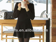 Knitted dress fashion 2013 new design hottest woman clothes