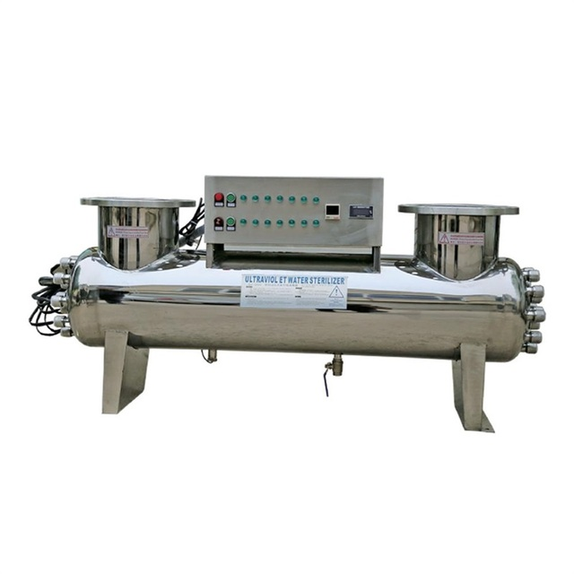 Wastewater automatic cleaning UV disinfection equipment