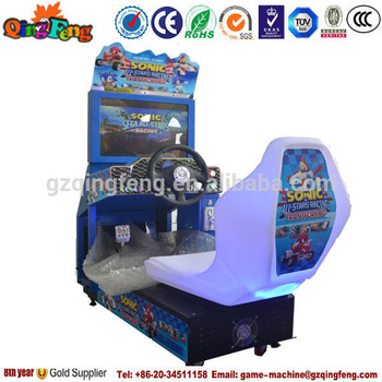 Qingfeng 2015 New Entertainment Arcade Car Racing Game Machine For ...