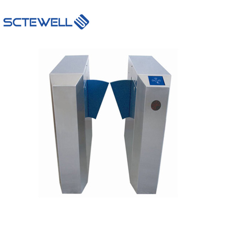 อัตโนมัติ Access Control Security Flap Barrier Turnstile Gates
