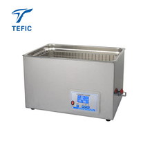 Double Adjustable Frequencies 25/45KHz LCD display Ultrasonic Cleaner, Cheap Price Dental Lab Ultrasonic Cleaner