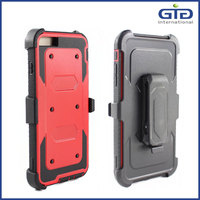 2 in 1 tpu+pc back cover for iPhone 6 back case, for iPhone 6 pc+tpu case with good quality