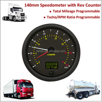 140mm Speedometer with Tachometer with Overspeed Buzzer Alarm, ELECTRICAL