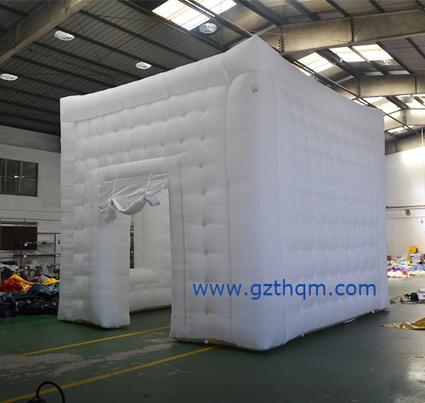 inflatable square tents for outdoor adverting
