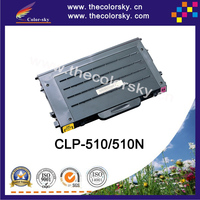 (CS-S510) Color toner laser cartridge for samsung CLP 510D7K 510D5C 510D5M 510D5Y 510 510N (7k/5k pages)