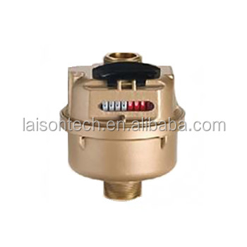 Piston volumetric water meter with liquid sealed PD-LFC (B)