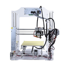Most Popular and Affordable LED operating touch display impresora 3d home use DIY digital desktop 3D printer cheap 3d printer