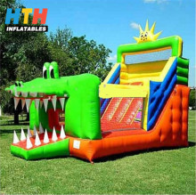 Commercial shark inflatable bouncer/jumping bouncy castle/bounce house with factory price