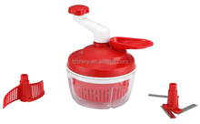 Manual vegetable and fruit tools multifunctional salad spinner food processor and chopper mixed oil