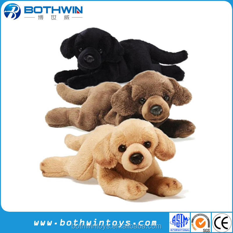 Puppies Stuffed Animals Plush Labrador Dog Soft Toy
