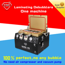TBK Superior mobile phone repair equipment laminating and bubble remove one step